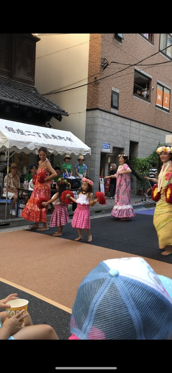 2018.8.28木挽町ハワイアンパーティー