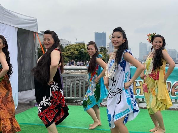 Hawaii & Tahiti Festival 氷川丸ボードウォーク