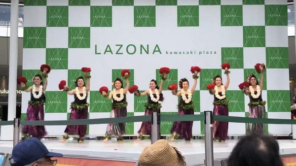 2019.9.1 ラゾーナ川崎 E HULA MAI FESTIVAL JAPAN