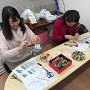 2019.11.30  クリスマス・リース作り